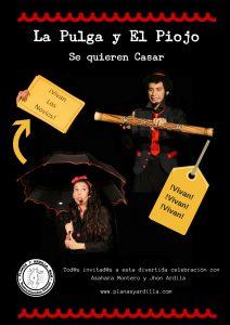 Cartel Generico Pulga y Piojo